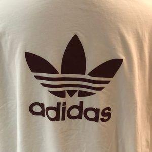 Adidas Men's white tshirt